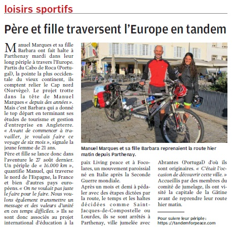 interview parthenay